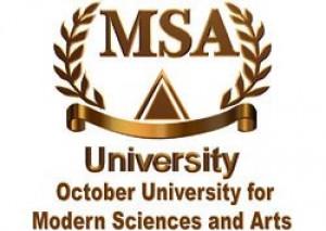 (MSA) October University Logo