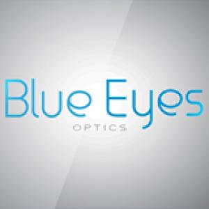 Blue Eyes Optics Logo