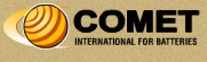 Comet International for Batteries Co. Logo