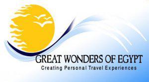 Great Wonders of Egypt Travel Logo
