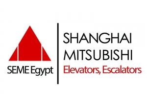 SEME EGYPT - Mitsubishi Shanghai Elevators and Escalators Logo