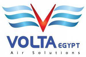 Volta Egypt Air Solution Logo